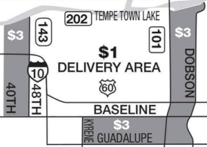 Store area Zone map